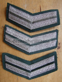 om089 - 23 - VP Volkspolizei Police 10 years service sleeve rank patch chevron
