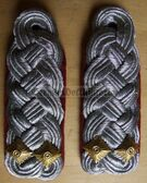 sblar026 - OBERSTLEUTNANT - Artillerie - Artillery - pair of shoulder boards