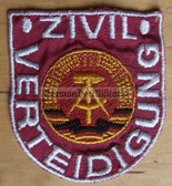 om195 - ZIVILVERTEIDIGUNG SLEEVE PATCH - Civil Defence