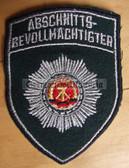 om197 - 3 - ABSCHNITTSBEVOLLMAECHTIGTER SLEEVE PATCH - VP Police
