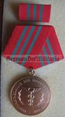 om966 - ZOLLVERWALTUNG DER DDR - East German Customs Zoll Verdienstmedaille Medal of Merit in Gold