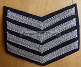om218 - TraPo Transportpolizei Transport Police 20 years service sleeve rank patch chevron