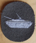 om194 - NVA Army Panzer Tank qualification sleeve patch