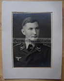 lwpc094 - large size Luftwaffe Officer Cadet Faehnrich studio portrait