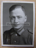wpc495 - Wehrmacht Soldat studio portrait photo