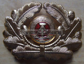 sbbs065 - NVA Volksmarine Navy and GBK Grenztruppen officer Visor Hat insignia - visor cockade