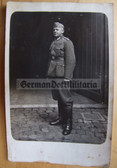 wpc021 - Wehrmacht soldier full body portrait photo