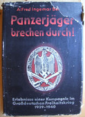 wb005 - PANZERJAEGER BRECHEN DURCH - German Heavy PAK company Western Front book from 1940