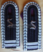 Xsbbf016 - OFFIZIERSSCHUELER 2ND YEAR - Berufsfeuerwehr Professional Fire Service - pair of shoulder boards