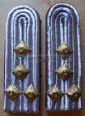 Xsbbf024 - HAUPTMANN - Berufsfeuerwehr Professional Fire Service - pair of shoulder boards