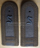 Xsbfd016 - FELDDIENST OFFIZIERSSCHUELER YEAR 2 - all branches of the army and border guards - pair of shoulder boards