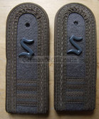 Xsbfd018 - FELDDIENST OFFIZIERSSCHUELER YEAR 4 - all branches of the army and border guards - pair of shoulder boards
