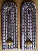 sbffw021 - 3 - UNTERBRANDMEISTER - Freiwillige Feuerwehr FFW Voluntary Fire Service Officer - pair of shoulder boards