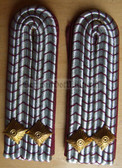 sbffw022 - BRANDMEISTER - Freiwillige Feuerwehr FFW Voluntary Fire Service - pair of shoulder boards