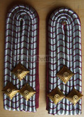 sbffw023 - 2 - OBERBRANDMEISTER - Freiwillige Feuerwehr FFW Voluntary Fire Service - pair of shoulder boards