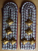 Xsbffw024 - BRANDINSPEKTOR - Freiwillige Feuerwehr FFW Voluntary Fire Service - pair of shoulder boards