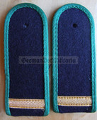 sbgbk002 - 2 - OBERMATROSE - Grenzbrigade Kueste - Coastal Border Guards - pair of shoulder boards