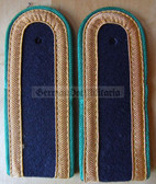 sbgbk004 - 4 - MAAT - Grenzbrigade Kueste - Coastal Border Guards - pair of shoulder boards