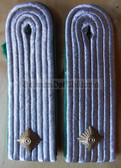 sbgt021 - UNTERLEUTNANT DER GT - Grenztruppen - Border Guards - pair of shoulder boards