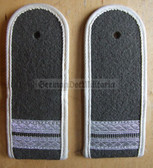 sblawx003 - STABSGEFREITER  - pre 1972 - INFANTERIE - Army Infantry - pair of shoulder boards