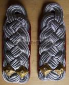 sbmfs026 - 2 - OBERSTLEUTNANT - Staatssicherheit MfS Wachregiment - State Secret Police - pair of shoulder boards