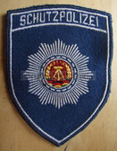 sbtp037 - 6 - SCHUTZPOLIZEI SLEEVE PATCH - Transportpolizei TraPo - Transport Police