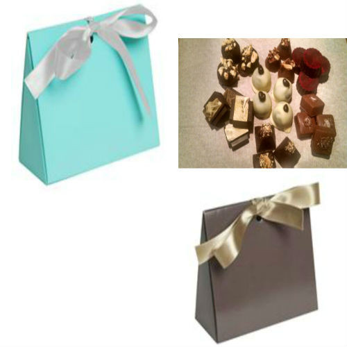 Signature Truffle Triangle Tote filled with our signature flavors or two of your favorite flavors.
