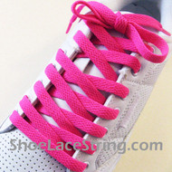 Hot Pink 54INCH Shoe Laces Hot Pink Shoe Strings 2Pairs