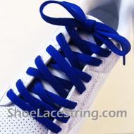 Blue 55INCH Shoe Laces Blue Shoe Strings 2Pairs