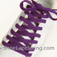 Purple 54INCH Shoe Laces Purple Shoe Strings 2Pairs