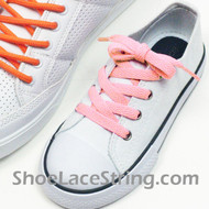 Kids Light Pink 27INCH ShoeLaces Light Pink ShoeStrings 2Pairs