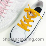 Kids Gold Yellow 27INCH ShoeLace ShoeString 2Pairs