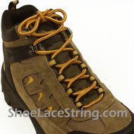 Tan/Gold 54INCH Boot Lace Tan Gold Work Boots Laces String 1Pair