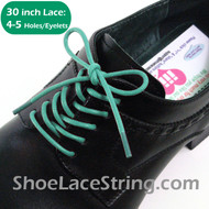 Light Sky Blue 30INCH Dress Shoe Lace Round ShoeStrings, 1PAIR