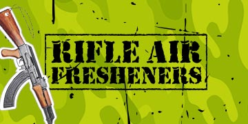 Rifle Air Fresheners