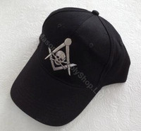 Mortality Masonic Baseball Hats