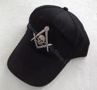 Mortality Masonic Base Ball Hats