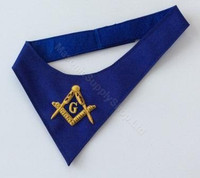 Royal Blue Masonic Cravat