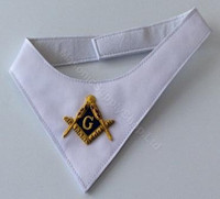 White Masonic Cravat