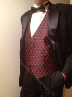 Shrine Formal Vest  Black
