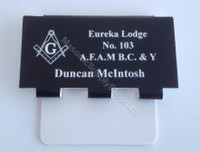 Name Badge/Name Tags with  3 Jewel Hanger
