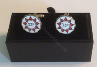 Scottish Rite 33rd Degree Cufflinks