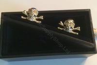 Gold Mortality Cufflinks