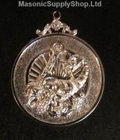 Grand Stewards  Collar Jewel Cornicupia  Silver