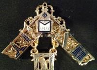 Past Masters Jewel 30 A.F & A.M