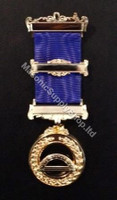 Grand Superintendent of the Work  Breast Jewel  3 Bar