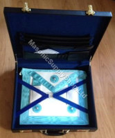 Master Masons Apron with Case