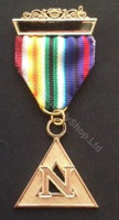 Past Commander Noah Rainbow Jewel  engraved   JWL-RAM-PCN-G