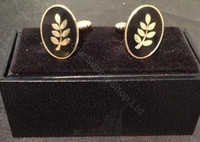 Cufflinks – Acacia Leaves  NEW!