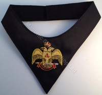Scottish Rite Cravat  Wings Down